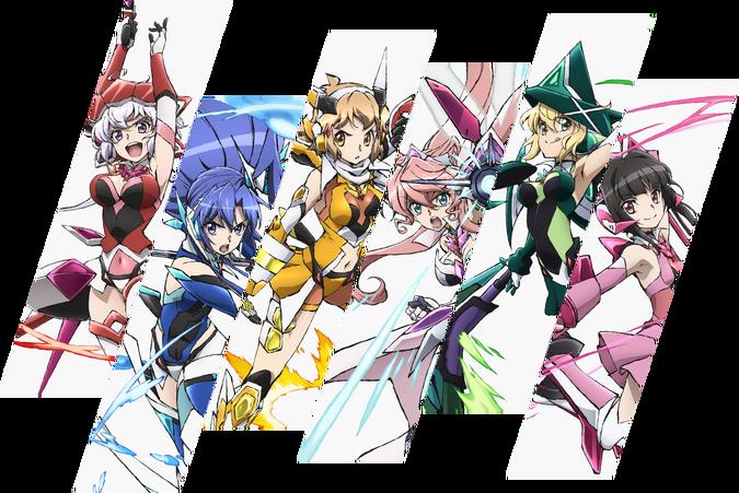 Symphogear XV Main Characters
