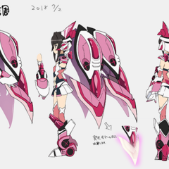 Shirabe's Mechanical Gear Concept Art