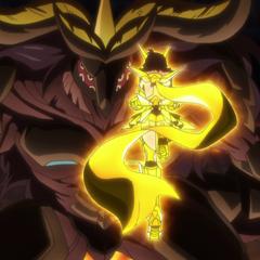 Adam vs Alchemic Gold Hibiki