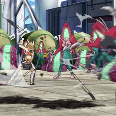 Hibiki fighting Noise