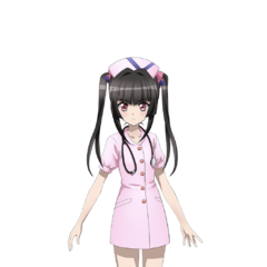 Shirabe in a Nurse Costume