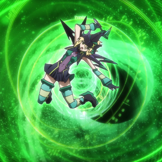 Kirika after transforming in <i><a href=