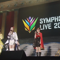 Minako along with Shouta and Rina giving speeches during <a href=