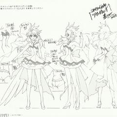 Kanade's Concert Clothes
