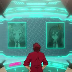 Genjuro calling Tsubasa and Hibiki
