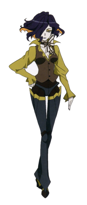 Leah character design
