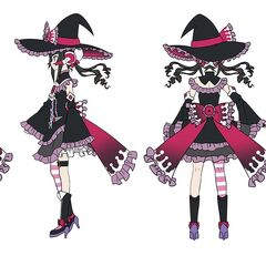 Shirabe's Halloween Gear Concept Art