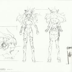 Kanade's Damaged Gungnir Sheet