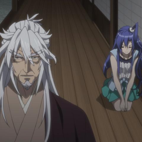 Fudō and Tsubasa. Note the physical similarities.