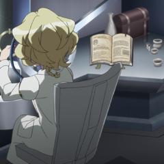 Elfnein repairing the relics