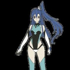 Tsubasa's Symphogear without its armor