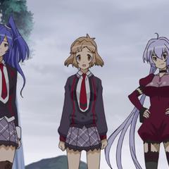 Hibiki, Tsubasa and Chris returned