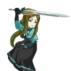 Phara's character transparent