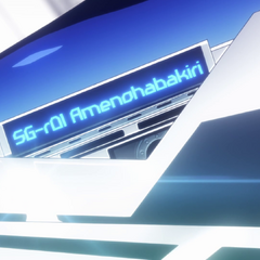 Ame no Habakiri's Model Number in <a href=