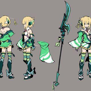 Kirika's Traditional Gear