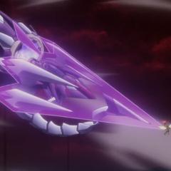 Shem-Ha attacking Hibiki