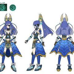 Tsubasa's Sengoku Gear