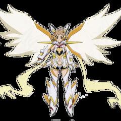 Hibiki's Symphogear in X-Drive form in <i>GX</i>.