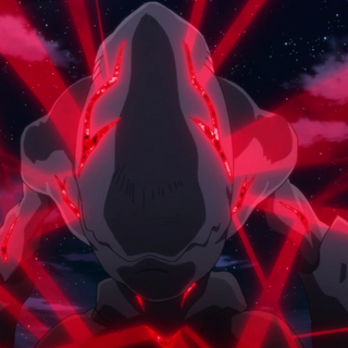 The Nephilim transforming after devouring Hibiki's arm