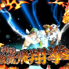 Hibiki Style・Soaring Raging Stream Fist