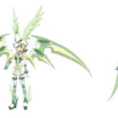 Kirika's Symphogear in <a href=