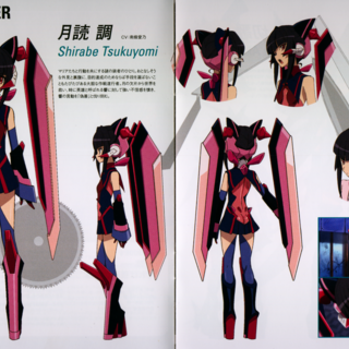 Shirabe's Character Design in G
