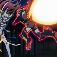 Hibiki attacks Saint-Germain