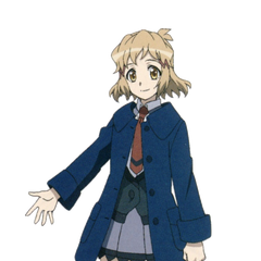 Hibiki's school uniform in <i>XV</i>.