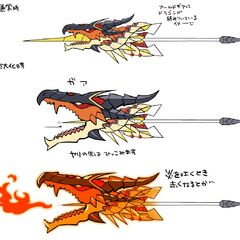 Kanade's Armed Gear (Dragon version) Concept Art