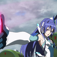 Tsubasa activating her Ignite Module.