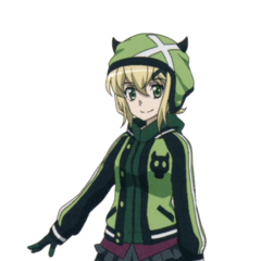Kirika's second casual XV outfit.