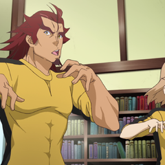 Hibiki training with Genjuro