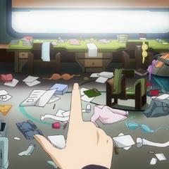 Tsubasa's hospital room