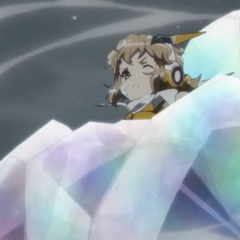 Hibiki stuck in ice