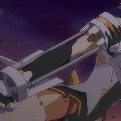 Hibiki's 'Armed Gear' in Season 1 'Fist'