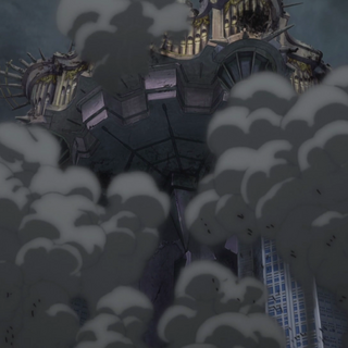 The Château destroyed
