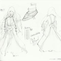 Finé's priestess clothes