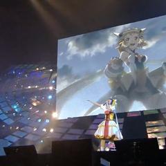 Aoi singing <a href=