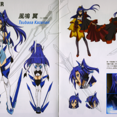 Tsubasa's Character Design in G