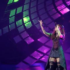 Yōko singing <a href=