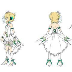 Kirika's Wedding Gear