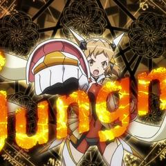 Full view of Hibiki's Gungnir in <a href=