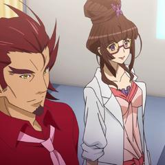 Genjurou with Ryōko