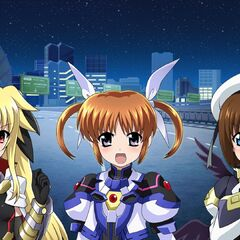 Fate, Nanoha & Hayate Barrier Jacket Form