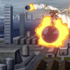 Hibiki Style・Lightning Missile