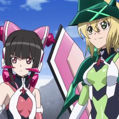 Kirika and Shirabe