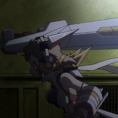 Hibiki's original Armed Gear