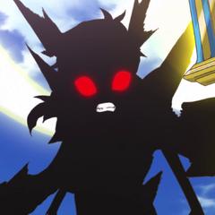 Hibiki holding Durandal