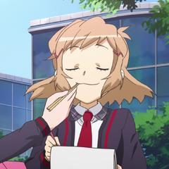 Hibiki eating