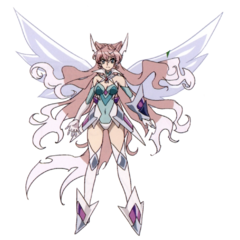 Maria's Airgetlám in Burning X-Drive form.